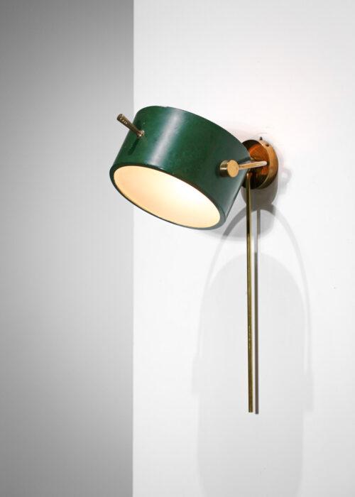 applique francaise des années 50 par lunel verte foncé